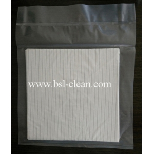 Microfiber Disposable Anti-static Cleanroom Wipes
