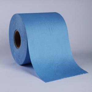 Nonwoven Blue Roll Wipes supplier
