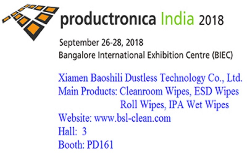 Productronica India 2018 Show, Date:Sep.26 to 28,2018